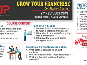 GROW YOUR FRANCHISE CERTIFICATION COURSE