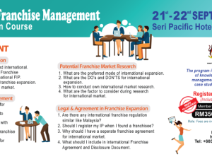 INTERNATIONAL FRANCHISE MANAGEMENT (IFM)