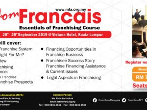 ESSENTIALS OF FRANCHISING COURSE (KAPF)