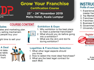 GROW YOUR FRANCHISE (GYF) CERTIFICATION COURSE